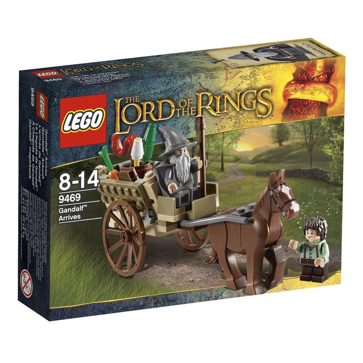 LEGO Lord of the rings 9469 l'arrivée de gandalf seigneur des anneaux