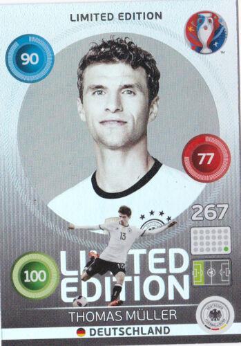 Panini Adrenalyn XL UEFA Euro 2016-Limited Edition Hero Thomas Müller