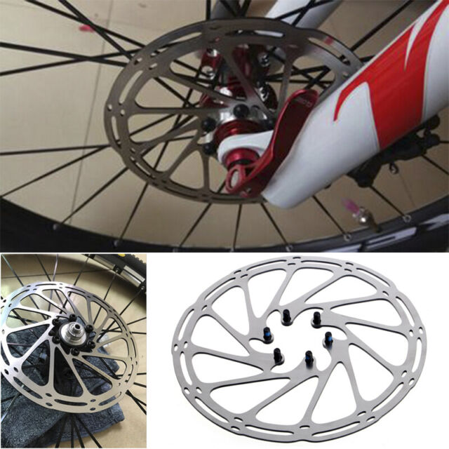 Stainless 180mm 6 Bolts Brake Disc Rotors Road Mountain Bike Cycling MTB