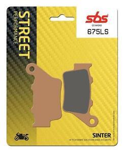 Ducati-Monster-797-17-18-19-SBS-Rear-Fast-Road-Sinter-Brake-Pads-Set-EO-675LS