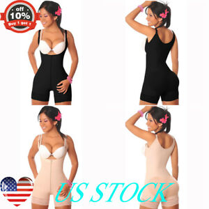 b1ccf452321f2 Image is loading Women-Body-Shaper-Waist-Trainer-Corset-Shapewear-Slim-