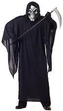 Grim Reaper Skull Mask Demon Adult Plus Size Costume