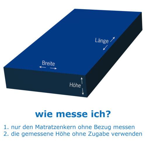 "Matratzenbezug Matratzenschoner /""BAMBOO/"" unversteppt"