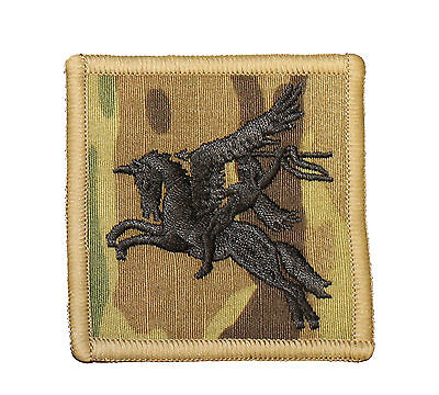 Sticky New Crye Multicam Backed 16 Air Assualt Brigade Patch TRF Hook