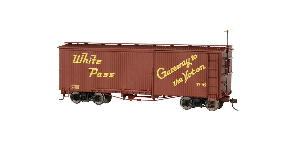 27001 Wagon Wagon Wagon Box Car Bachmann Spectrum Train ON30 540ac9