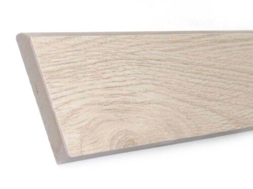 Sockel 29,6x7,2 cm Fliesen Sockel Feinsteinzeug Wood Injekt T2 ivory beige