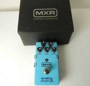 MXR Analog Chorus Effects Pedal Free USA Shipping