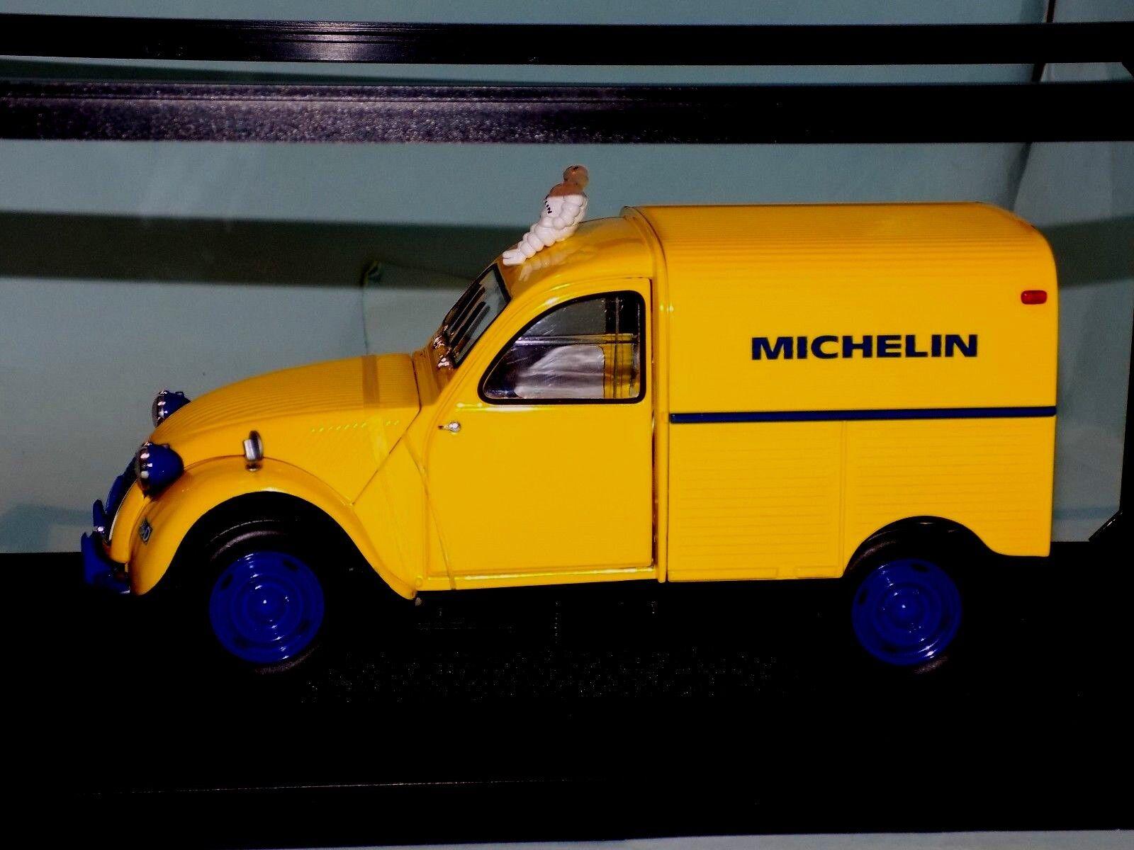 Citroen 2CV Fourgonnette MICHELIN with BIBENDUM  NOREV   181502  1 18