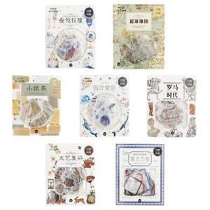 Retro-Styleocean-Stickers-PVC-Stickers-Kawaii-Scrapbooking-DIY-Phone-Q