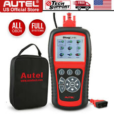 Autel Obd2 Code Reader Diaglink Md802 All Systems Diagnostic Abs Srs Epb Oil