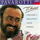 1 of 1 - Ti Amo - Puccini's Greatest Love Songs, Good, Luciano Pavarotti,