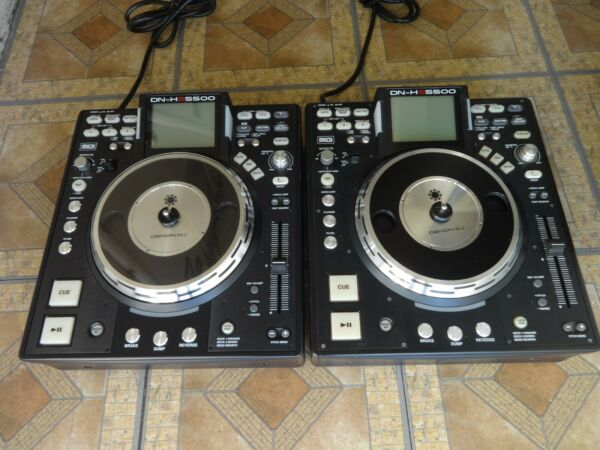Betrouwbaar Denon Dn-hs5500 Professional Digital Media Player Midi Controller Deck Pair Mint