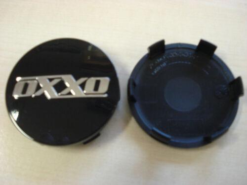 CERCHI OXXO center cap 60 mm NERO LUCIDO xc6ox oxxo07 COPERCHIO TAPPO MOZZO