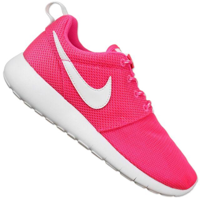 ff5037e2744 Nike Roshe One Running Shoes Lunarlon Jogging Light Trainers Pink 37 ...