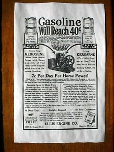 "VINTAGE REPRINT ADVERT SPRINGFIELD OHIO GAS ENGINE 11/""x17/"" 169L"