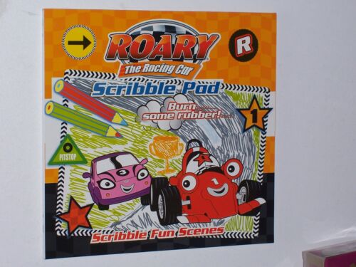 Roary The Racing Car Scribble Pad 2 of 2