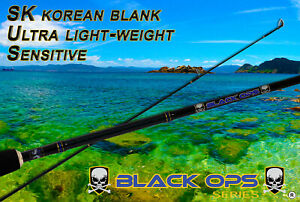 Black-Ops-6-6-039-Spinning-Fishing-Rod-Great-4-Bream-Flathead-Whiting-Perch-etc