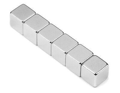 1x Neodym Magnet super stark Quader Würfel N52 15x15x15