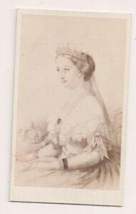 Vintage-CDV-Empress-Eugenie-of-France-Taupin-Photo