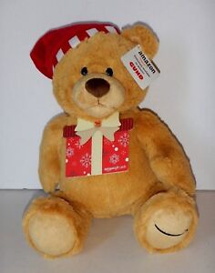 BRAND-NEW-GUND-2017-Christmas-Limited-Edition-Soft-Plush-Toy-Teddy-Bear-Amazon