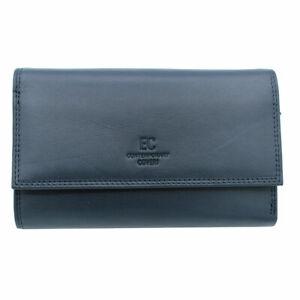 vasta selezione di 84097 1e35f Dettagli su Portafoglio donna PELLE portamonete portafoto CONTEMPORARY  COVERI 826-231 blu