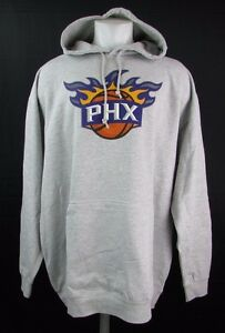 Phoenix-Suns-Men-039-s-Big-amp-Tall-3XLT-Pullover-Big-Logo-Hoodie-NBA-Majestic