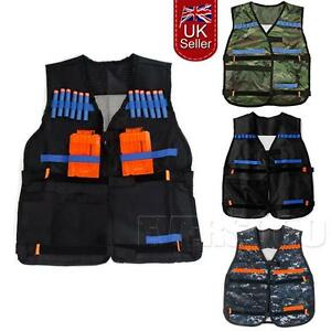 Adjustable Tactical Vest Jacket For Nerf NStrike Elite Darts Clips Game Toy UK - <span itemprop='availableAtOrFrom'>London, United Kingdom</span> - 30 Day Satisfaction Exchange Guarantee: If the quality of your purchase does not meet your expectations or your satisfaction, the product ( s ) can be Exchanged only Most purchases from bu - London, United Kingdom