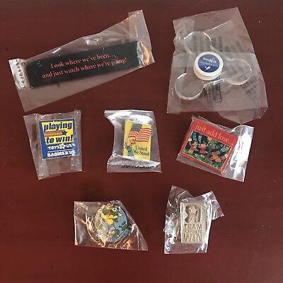 5 TRU Team Enamel Pins Toys R Us Geoffrey EMPLOYEE Collectible LOT