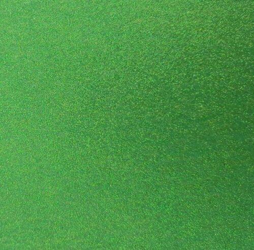 2 X A4 Hojas-Hoja Verde Brillo Tela de Fieltro-No Caseta-Craft arcos de costura