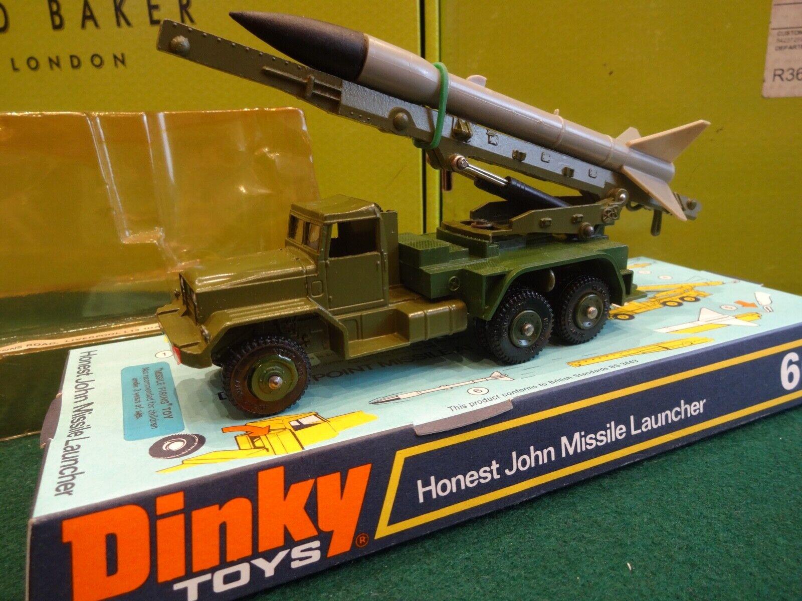 a la venta Dinky Juguetes Juguetes Juguetes Ultra Raro 665 honesto John lanzador de misiles  precios bajos