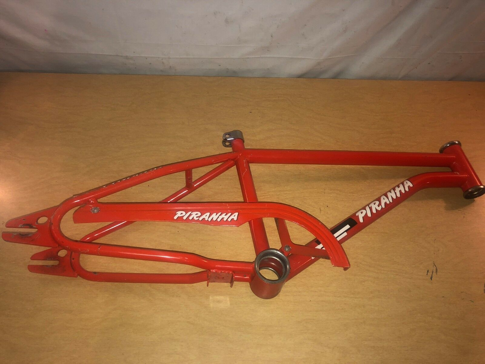 Vintage ROSS Piranha  Red Freestyle BMX Bike Bicycle Frame  the best online store offer