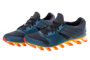 official photos 221a9 f0700 Image is loading Adidas-Springblade-Solyce-Blue-Orange-Mens-Running-Shoes-