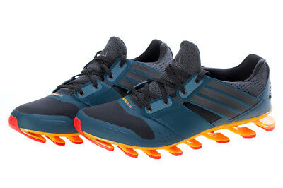 the best attitude f9d1a dffc9 Adidas Springblade Solyce Blue Orange Mens Running Shoes AQ5240 NEW All  Sizes   eBay