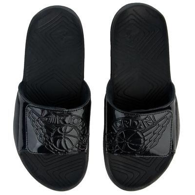 8e6c5e4d9d5 Nike Jordan Mens 9 Hydro 7 Aa2517 010 Black Slide Sandals for sale ...