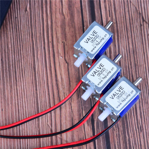 DC 6//12//24Velectric solenoid valve N//C normally closed mini for gas air valve ZB
