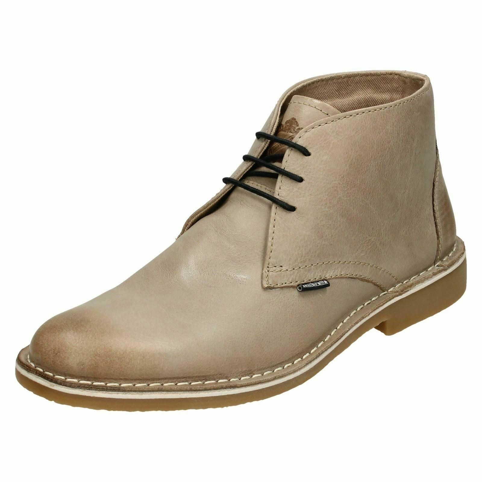 Mens Lambretta Casual Ankle Boots Canary LG 14131