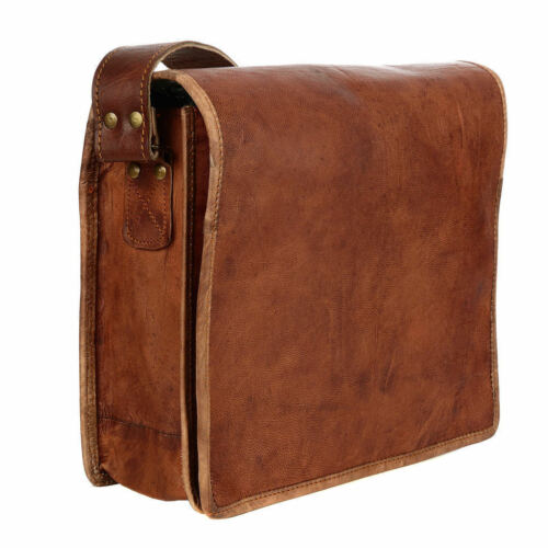 Men/'s Genuine Leather Business Messenger Bag Briefcase Laptop Document L Satchel