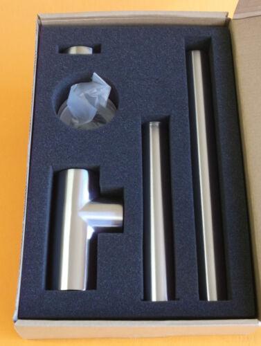 Design Sifon Flaschensifon Tassensifon  edelstahl matt  # 9320988