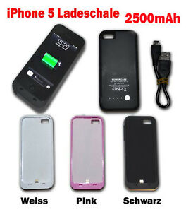 iPhone-5-Ladeschale-Battery-Power-Case-Zusatz-Akku-externe-mobile-Ladegeraet