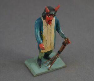 Grulicher-Krippenfigur-Krampus-Teufel-7-cm-Holz-geschnitzt-11050