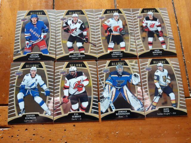 Lot of 8 2019/20 Upper Deck Allure hockey cards ( Brand New)