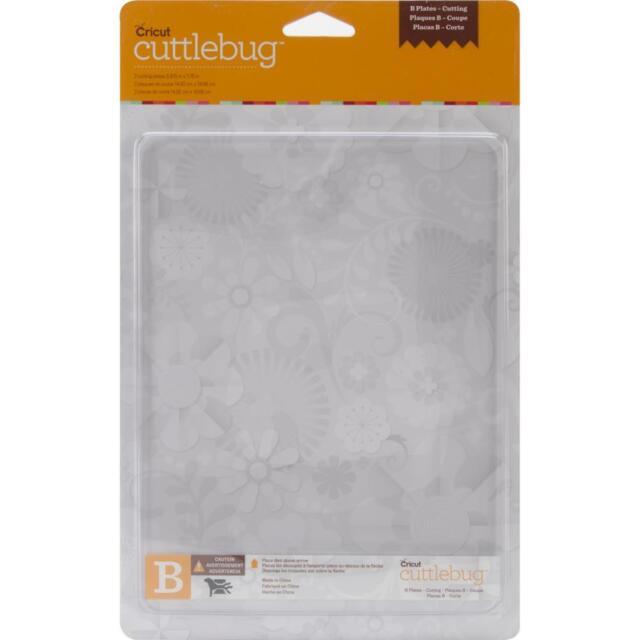 Provo Craft Cuttlebug 2 PK.Cutting Plates B 37-1258 NIP for Cuttlebug Machine