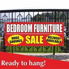 Bedroom Furniture Banner Vinyl Mesh Banner Sign Huge Savings Sale Delivery