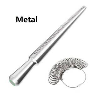Metal-Ring-Sizer-Mandrel-Finger-Sizing-Measure-Stick-UK-Standard-Tool-Ring-Kit