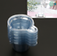 100X 40ML Plastic Disposable Cups Dispenser For Epoxy Resin mold Jewelry Making