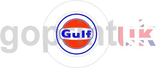 GULF OIL SELF CLING PERMIT TAX DISC HOLDER CLASSIC CAR