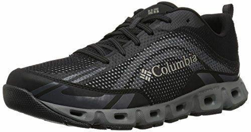 Columbia Para Hombre Zapato Negro De Agua Drainmaker IV, nos Lux 10.5 regular
