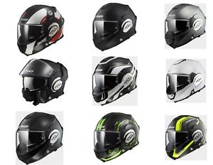 FREE-SHIPPING-LS2-VALIANT-Motorcycle-Modular-Helmet-All-Colors