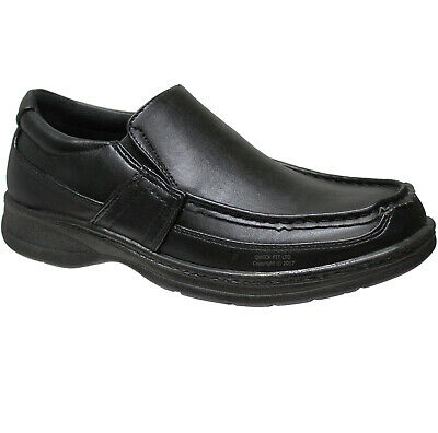 new mens comfort xtra padded slip on shoes formal black