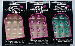 Royal-Petite-Size-Pre-Glued-Self-Stick-False-Nails